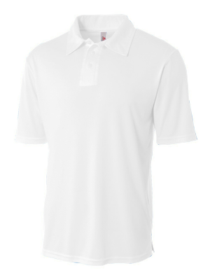A4 Adult Poly Performance Short Sleeve Polo