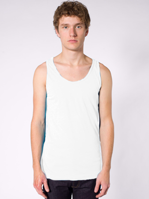American Apparel Adult 3.7 Ounce Unisex Poly/Cotton Tank