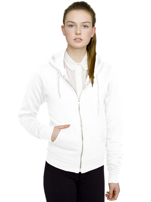 American Apparel Adult Unisex 8.2 Ounce Flex Fleece Zip Hoodie